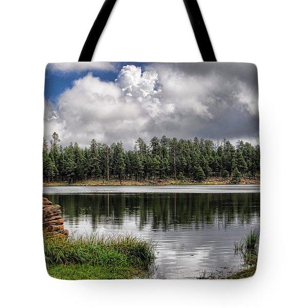 Morning Serenity  Tote Bag by Saija  Lehtonen