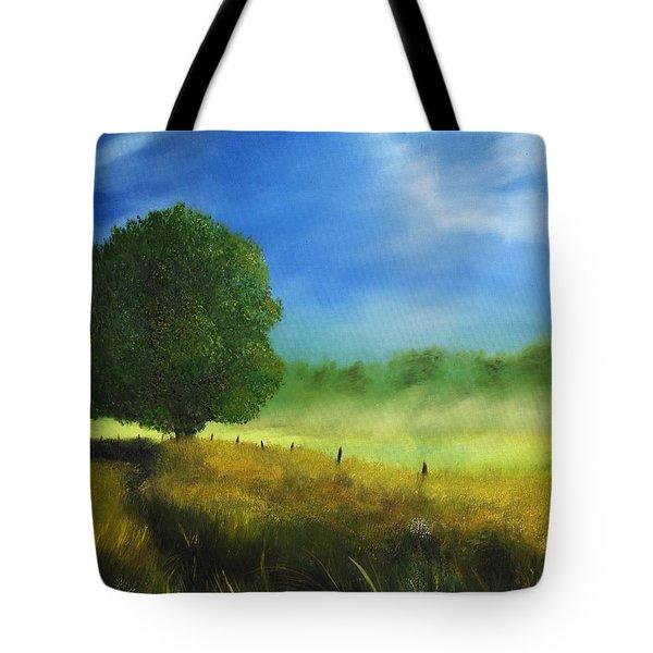 Morning Shade Tote Bag