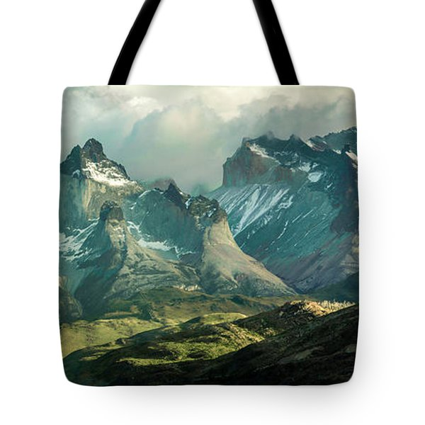 Morning Shadows Tote Bag by Andrew Matwijec