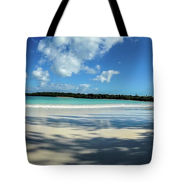 Morning Shadows Ile Des Pins Tote Bag