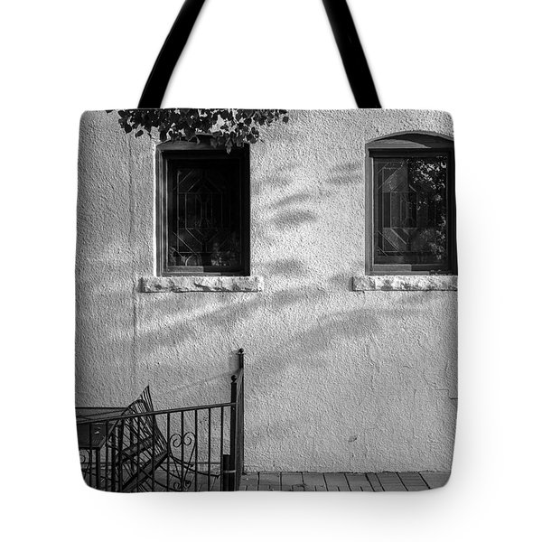 Tote Bag featuring the photograph Morning Shadows by Monte Stevens