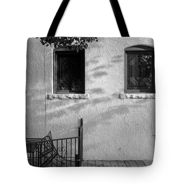 Morning Shadows Tote Bag