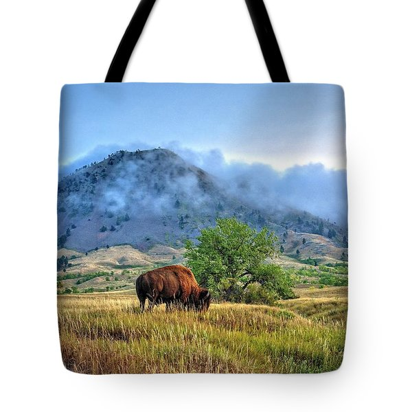 Morning Shift Tote Bag