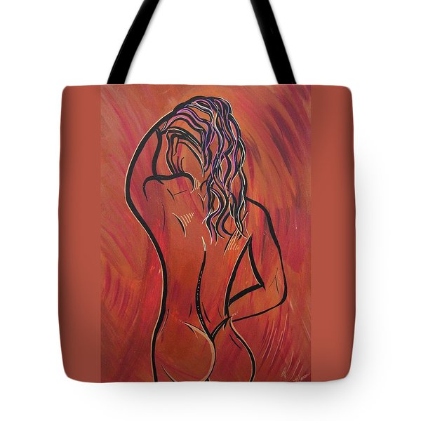 Morning Shower Tote Bag