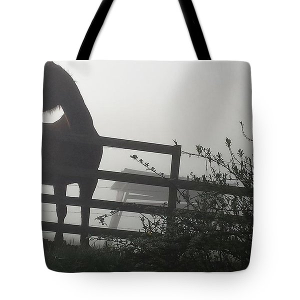 Morning Silhouette #2 Tote Bag