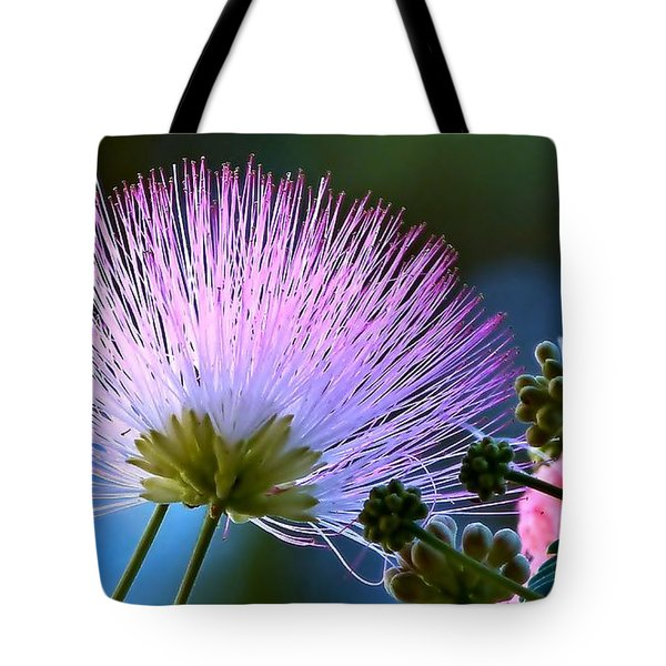 Morning Silk Tote Bag
