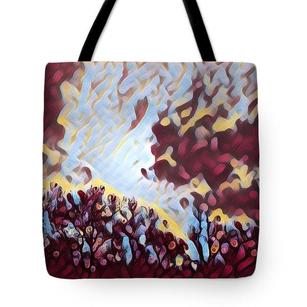 Morning Sky Tote Bag