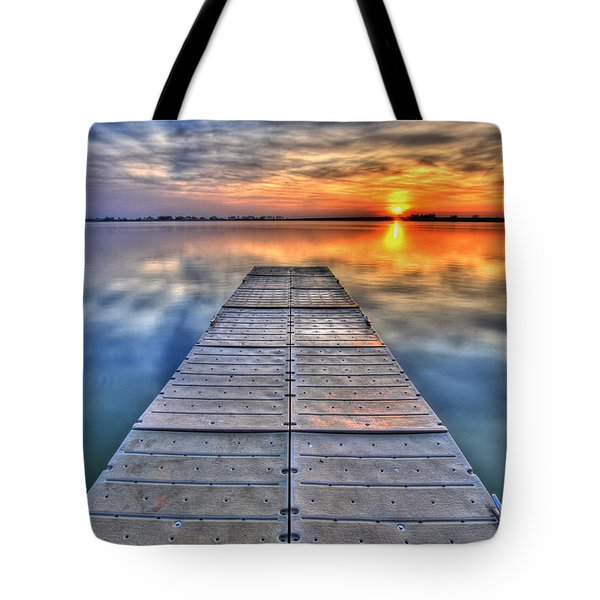 Morning Sky Tote Bag by Scott Mahon