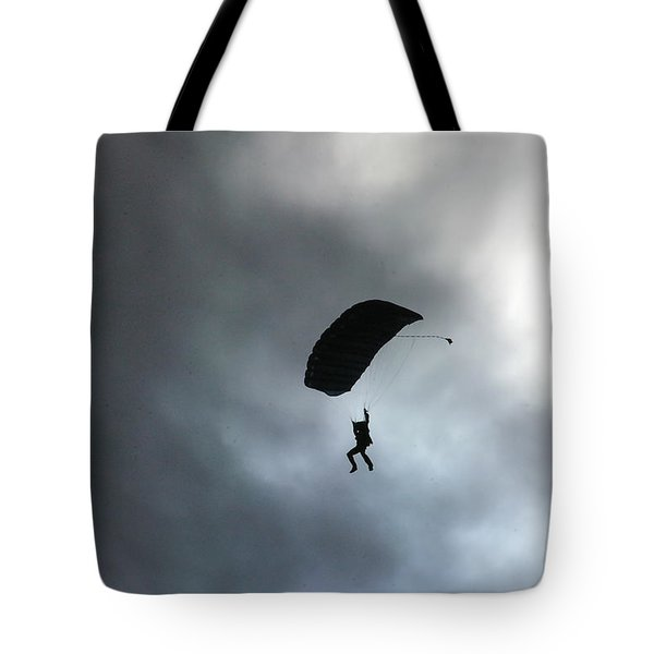 Morning Skydive Tote Bag