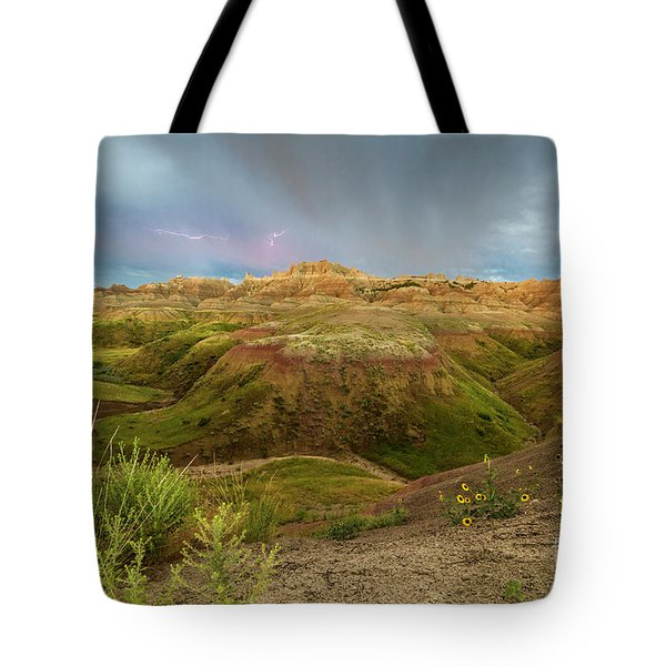 A Distant Strike Tote Bag