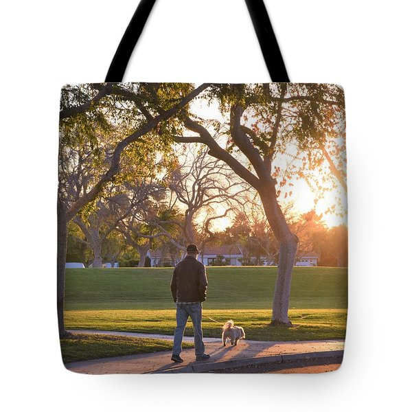 Morning Stroll Tote Bag