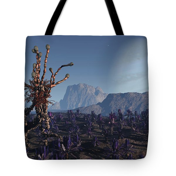 Morning Stroll Tote Bag by Richard Rizzo