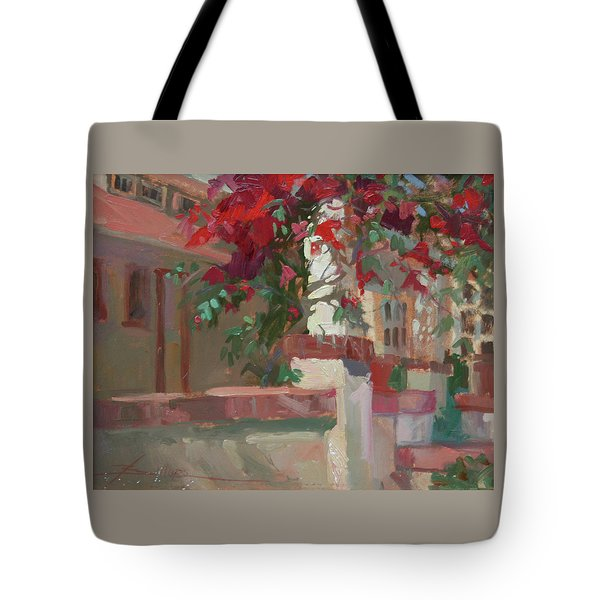 Morning Sun Banning House Tote Bag