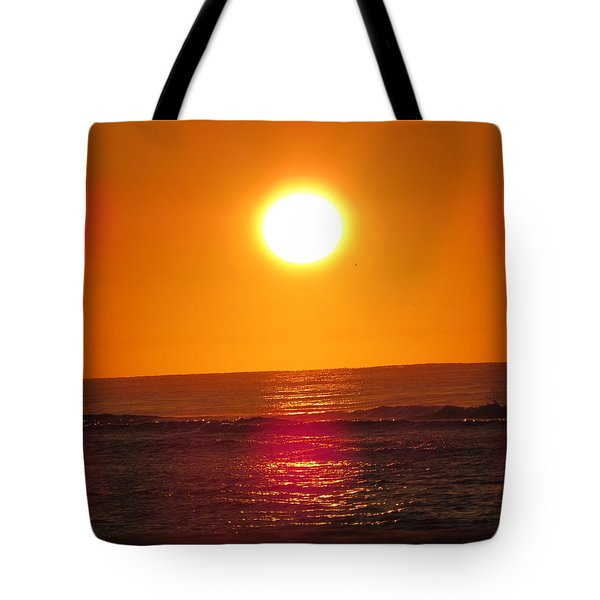 Tote Bag featuring the digital art Morning Sun Break by Kathleen Illes