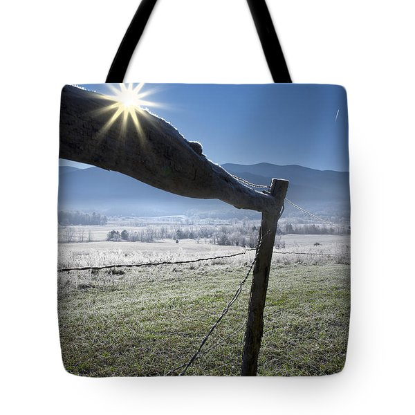 Tote Bag featuring the photograph Morning Sun by Ken Barrett