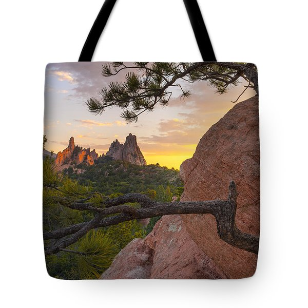 Morning Sunrise Tote Bag