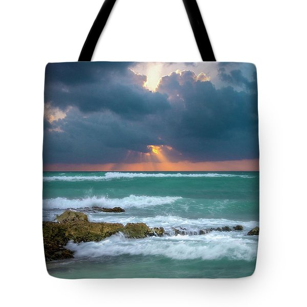 Morning Surf Tote Bag
