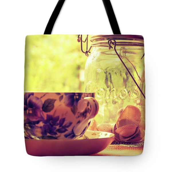 Morning Tea Tote Bag