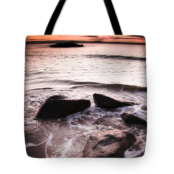 Tote Bag featuring the photograph Morning Tide by Jorgo Photography - Wall Art Gallery