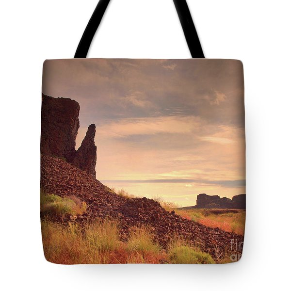 Morning Trek Tote Bag by Tara Turner