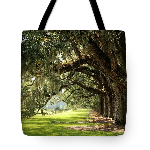 Morning Under The Mossy Oaks Tote Bag