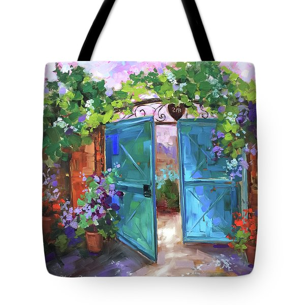 Morning Vieux Tote Bag