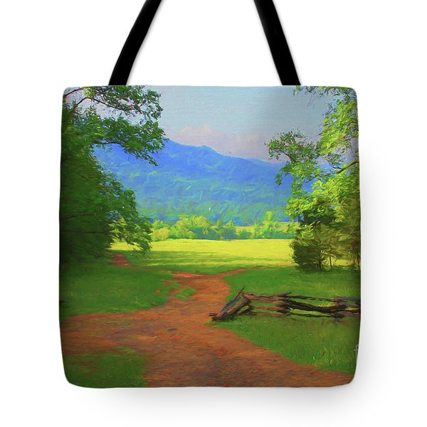 Morning View Tote Bag