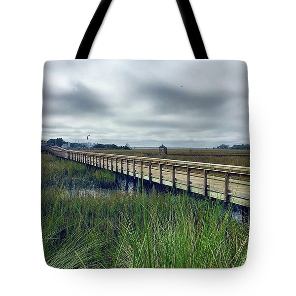 Morning View. #lowcountry #shemcreek Tote Bag