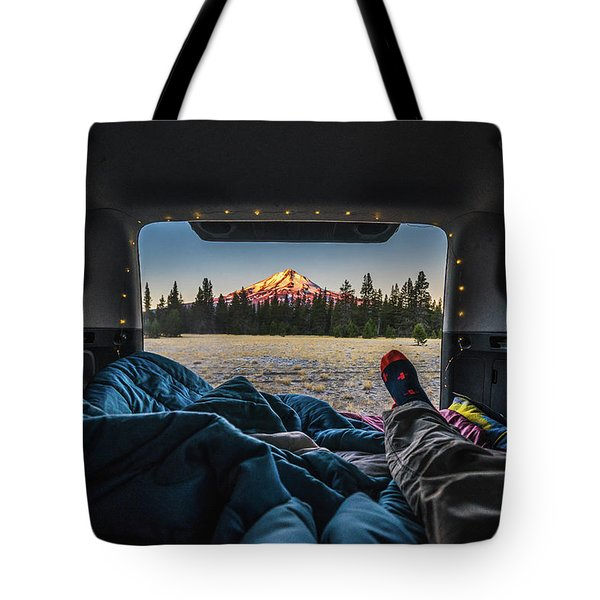 Morning Views Tote Bag