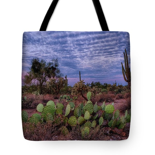 Tote Bag featuring the photograph Morning Walk Along Peralta Trail by Monte Stevens