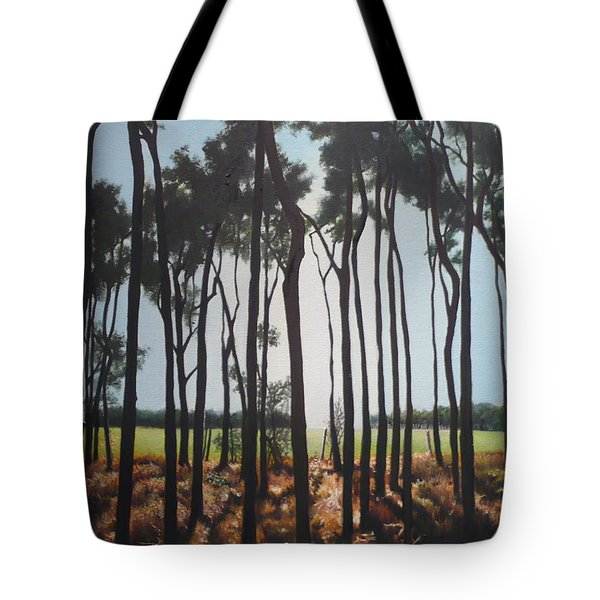 Morning Walk. Tote Bag