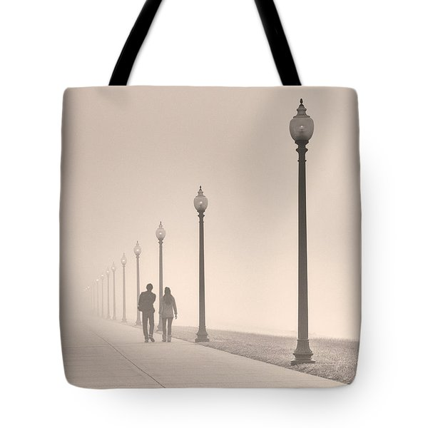 Morning Walk Tote Bag by Don Spenner
