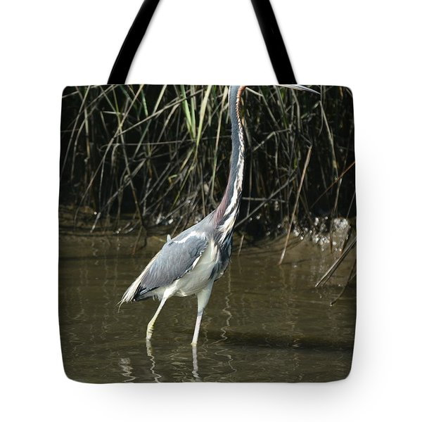 Morning Walk In The Water Tote Bag