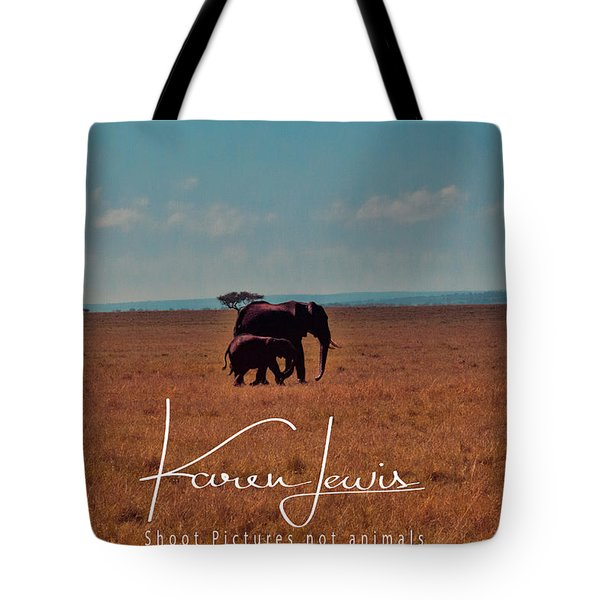 Tote Bag featuring the photograph Morning Walk by Karen Lewis