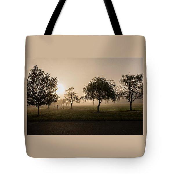 Morning Walk Tote Bag