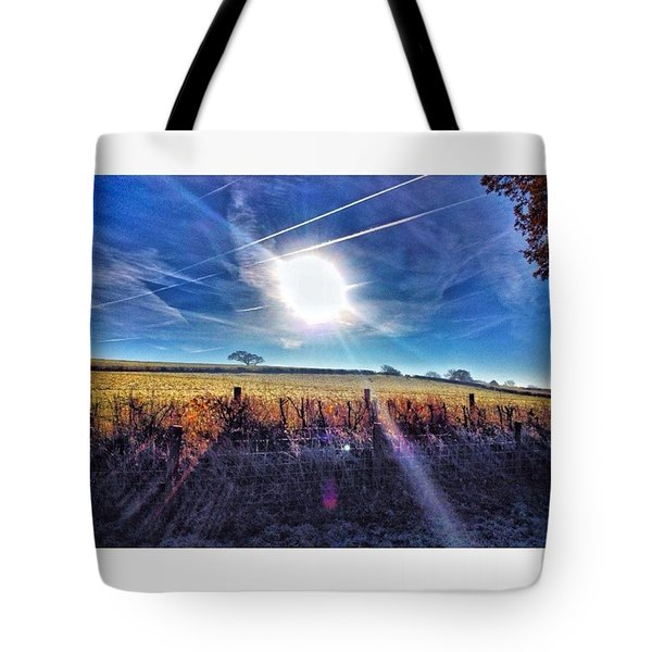 Morning Walk #mybestshot #nature Tote Bag
