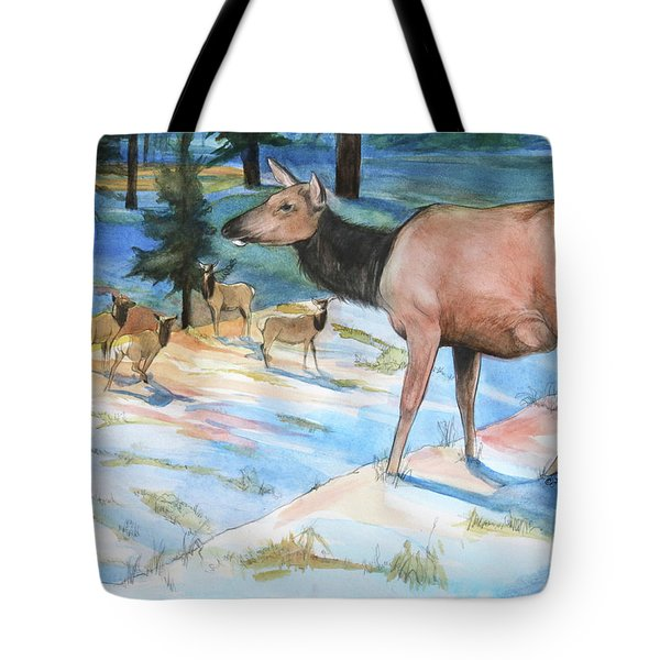 Morning Watch Tote Bag