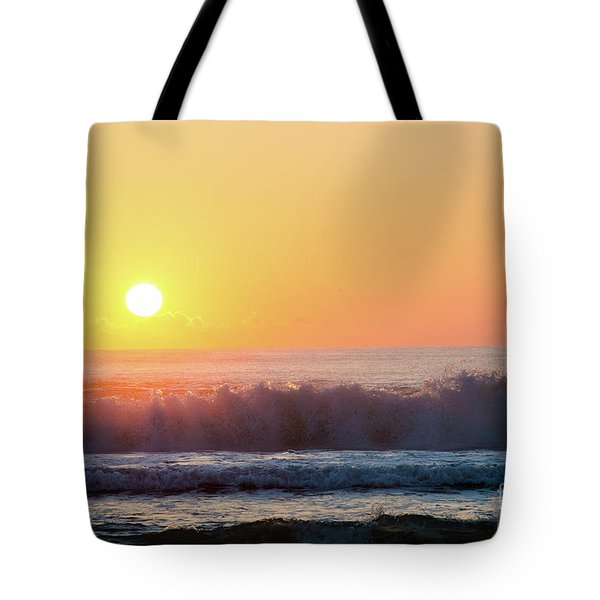 Morning Waves Tote Bag