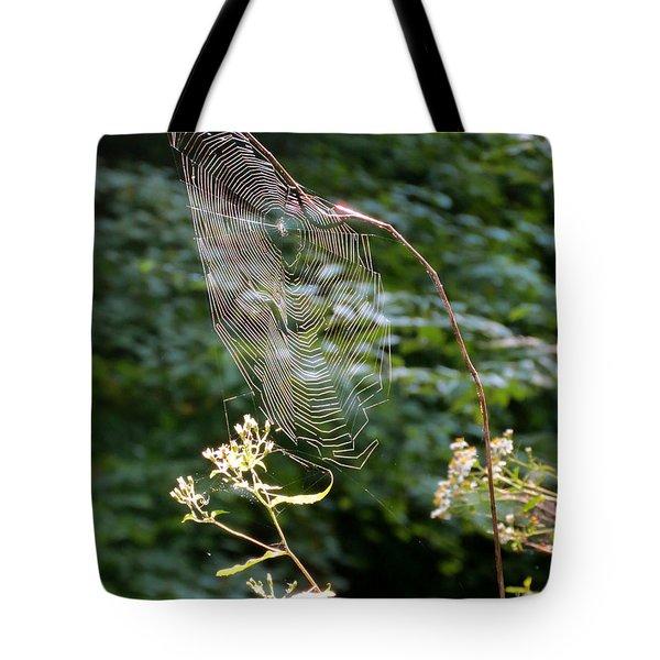 Morning Web Tote Bag