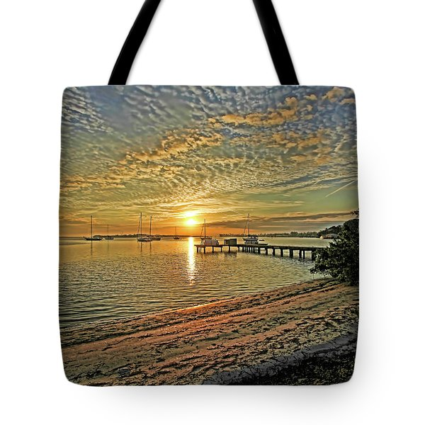 Mornings Embrace Tote Bag by HH Photography of Florida