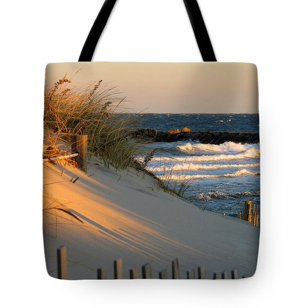 Tote Bag featuring the photograph Morning's Light by Dianne Cowen