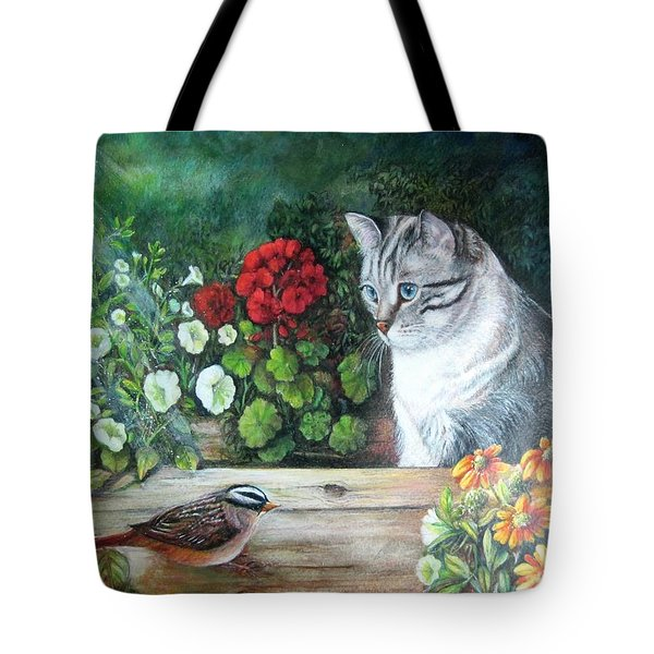 Morningsurprise Tote Bag by Patricia Schneider Mitchell