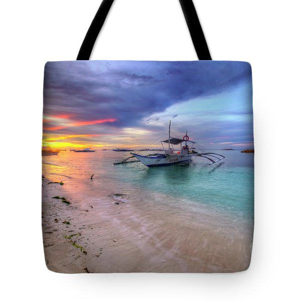 Tote Bag featuring the photograph Morningtide 2.0 by Yhun Suarez