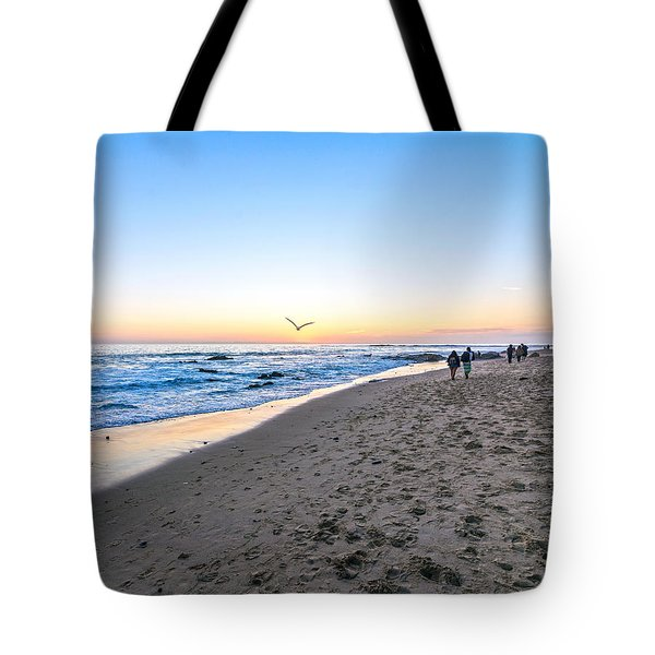 Tote Bag featuring the photograph Moro Sunset by Anthony Baatz