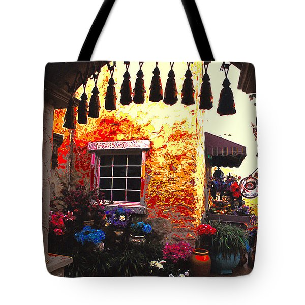 Moroccan Flower Shop Tote Bag