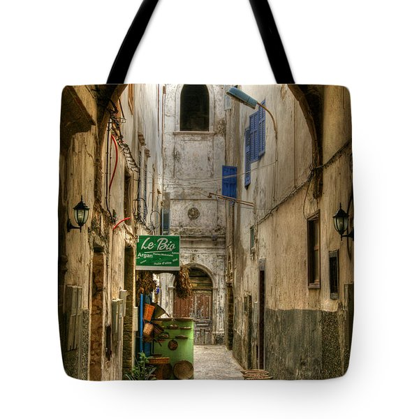 Moroccan Medina Tote Bag