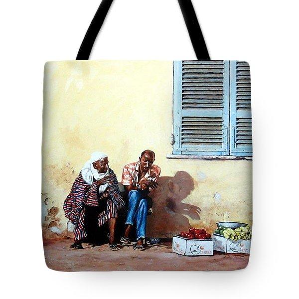 Morocco Tote Bag by Tim Johnson