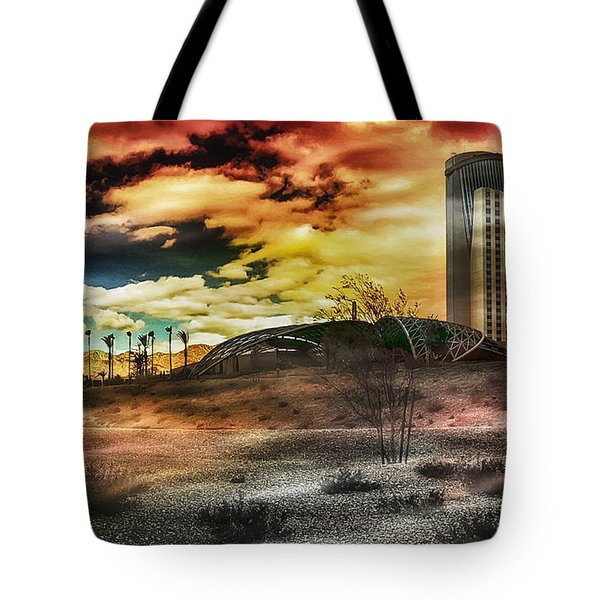 Morongo Casino Sunset Tote Bag