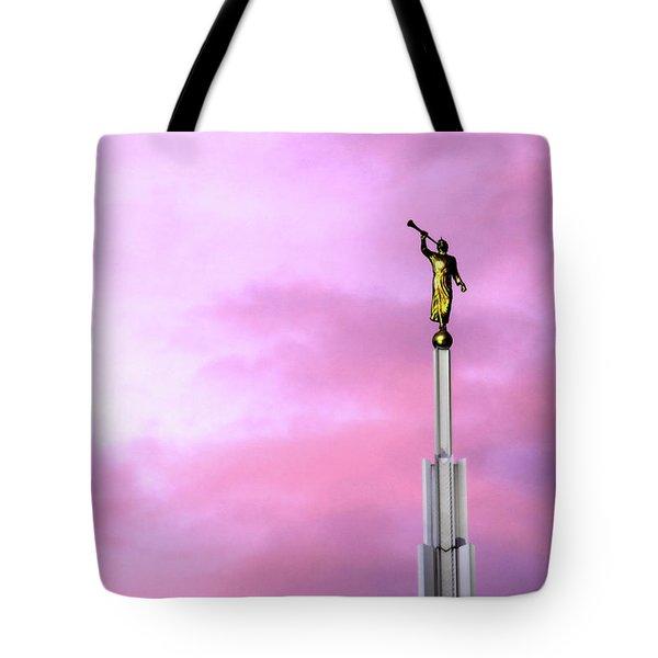 Moroni At Dawn Tote Bag