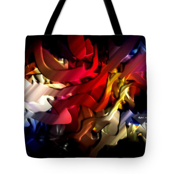 Tote Bag featuring the digital art Morphism Of Desire by Rafael Salazar